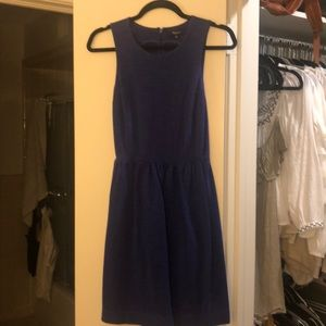Madewell Blue a-line Dress